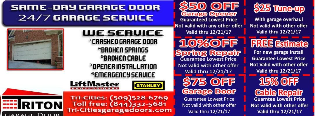 Tri Cities Garage Door Installation Tri Cities Garage Door Repair